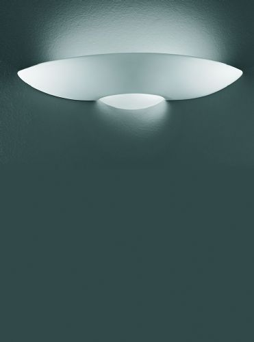 Franklite WB585 Ceramic - can be painted Wall Light